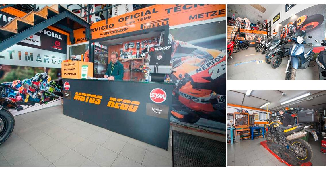 Taller de reparación de Motos en Villalba