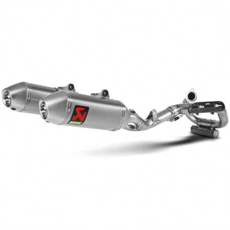 AKRAPOVIC COMPLETO RACING STAINLESS STEEL & TITANIUM