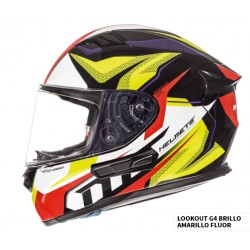 CASCO MT KRE LOOKOUT G4 GLOSS AMARILLO FLUOR BRILLO