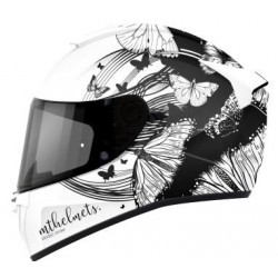 CASCO MT THUNDER 3 SV VLINDER A1 PERLA BLANCO BRILLO