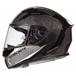 CASCO MT KRE SNAKE CARBON 2.0 A0 NEGRO BRILLO
