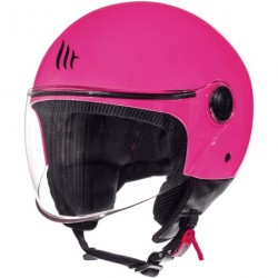 CASCO JET MT STREET SOLID A8 GLOSS PINK