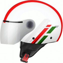 CASCO JET MT STREET SCOPE C5 PEARL RED