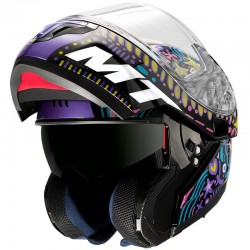 CASCO MT ATOM SV AXA A1 GLOSS BLACK