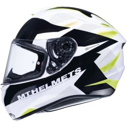CASCO MT TARGO ENJOY GLOSS PEARL FLUOR YELLOW