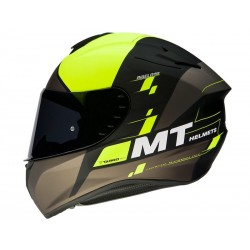 CASCO MT TARGO RIGEL A3 AMARILLO FLUOR MATE