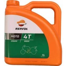 Aceite REPSOL 20w50 rider